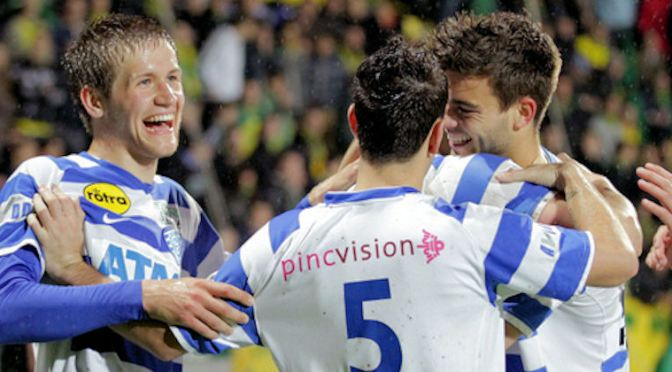 EREDIVISIE PROMOTION/RELEGATION PLAYOFF REPORT: 11th May 2013