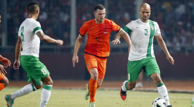 FRIENDLY: Dutch struggle to defeat Indonesia