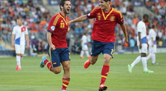 UNDER 21 EUROS: Jong Oranje sinked by Spain