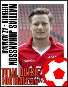 AZ Alkmaar - Mattias Johansson