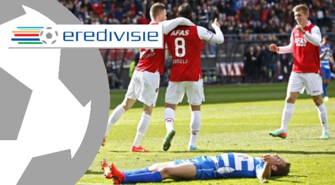 Week 29 Eredivisie Report: AZ edge Zwolle