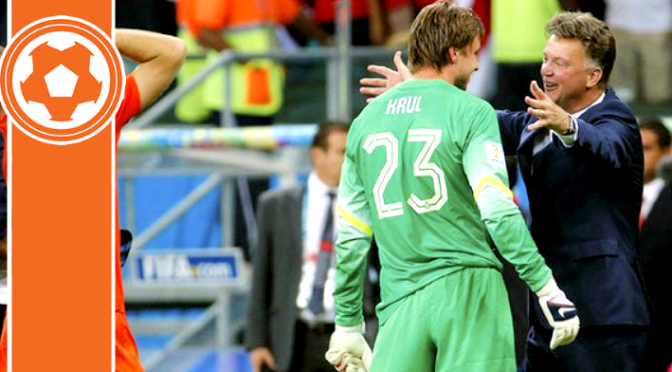 Van Gaal explains Krul and Cillessen switch