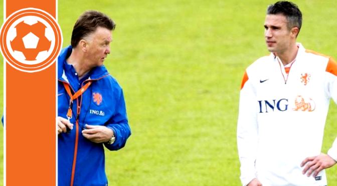 Van Gaal and RVP on their Man Utd future