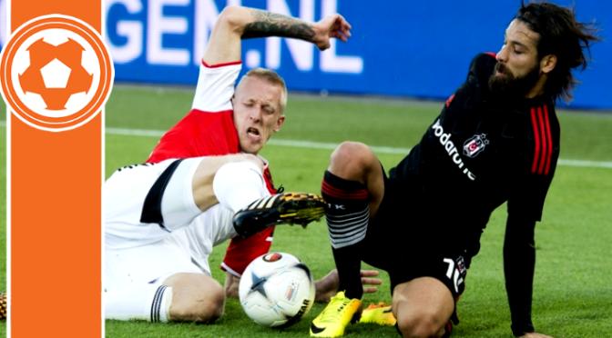 CHAMPIONS LEAGUE: Feyenoord 1-2 Besiktas