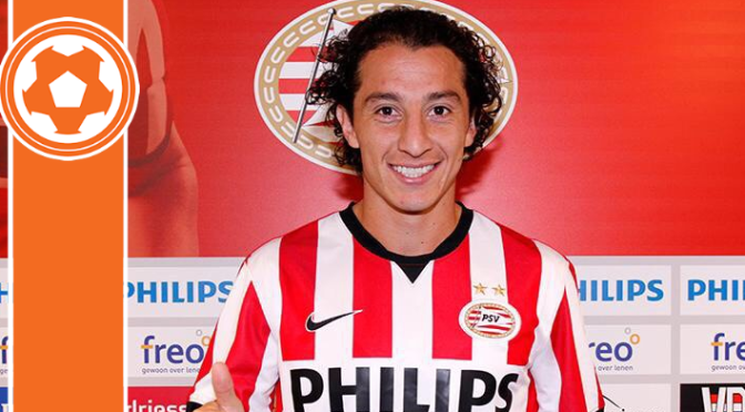 PSV loan Mexican winger from Valencia