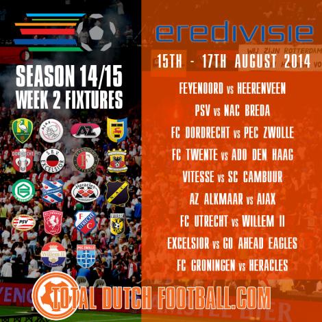Eredivisie-Fixture-Week2