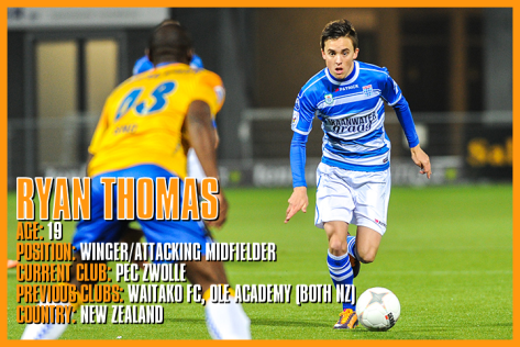Player Spotlight Ryan Thomas Pec Zwolle