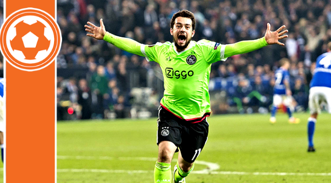 Ajax shock Schalke on way to Semis