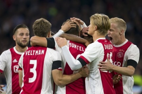 Image result for AFC Ajax 3-0 PEC Zwolle