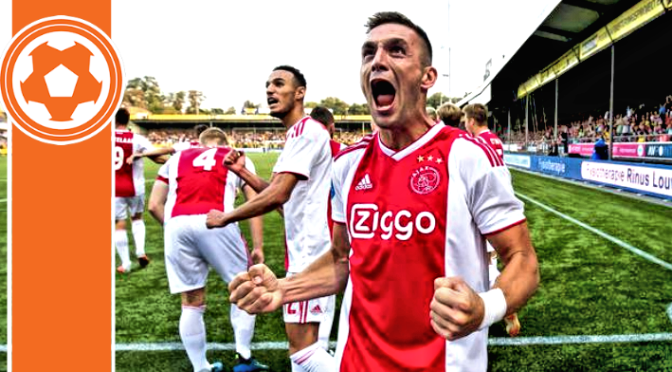 EREDIVISIE REPORT: Tadic to the rescue for Ajax