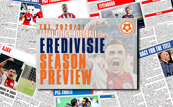 FREE Eredivisie 2020/21 Season Preview Magazine including team previews, betting picks and season predictions